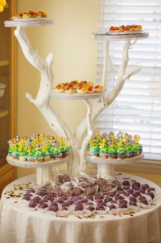 garda felina petrecere tematica suport servire aperitiv - antreu